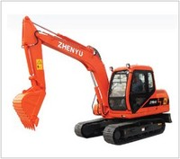 ZY80履带式挖掘机
